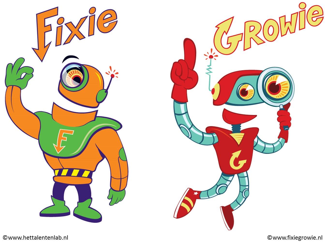 Afbeeldingsresultaat voor fixie en growie